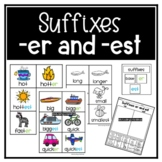 Suffixes er and est Comparison Sort