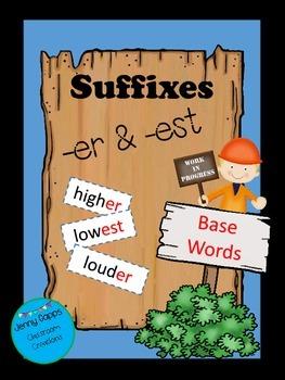 Suffixes (-er & -est)
