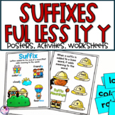 Suffixes -ful, -less, -ly, -y Activities