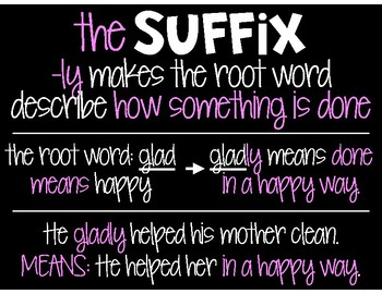 Suffixes: -ful & -ly