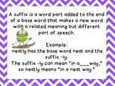 Suffixes ly, ful, er, or, and ish