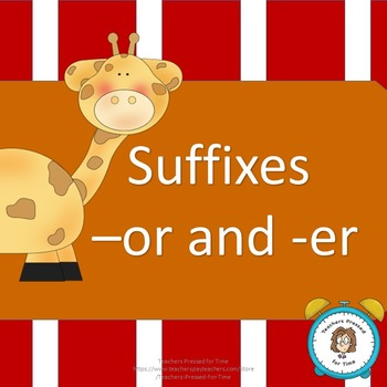 Suffixes -or and -er