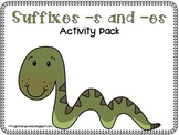 Suffixes -s and -es Activity Pack