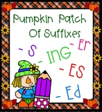 Suffixes in the Pumpking Patch SMARTBOARD -s, -es, -er, -ing, -ful, -ed