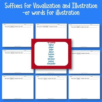 Suffixes to Illustrate