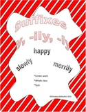 Suffixes -y, -ly, -ily
