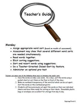 Suffixes/Endings Bundle Word Sort (Level 4) - Exploring Words