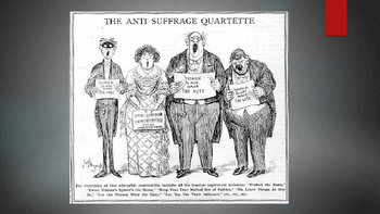 Suffrage Poster Examples