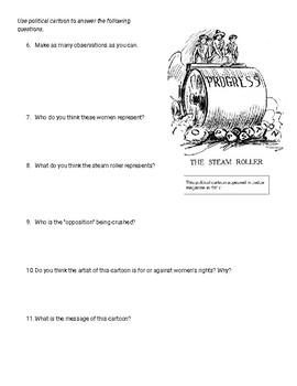 Suffrage & Women's Rights Quiz