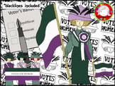 Suffragette Clipart (Personal & Commercial Use)