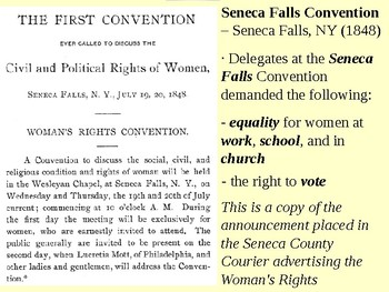 Suffragist Movement and the 19th Amendment PowerPoint Presentation