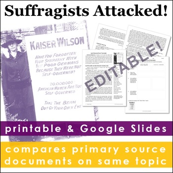 Suffragists Attacked