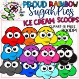 SugahPie Ice Cream Scoops Clipart -Proud