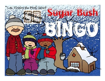 Sugar Bush Bingo in english