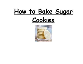 Sugar Cookie Picture Recipe
