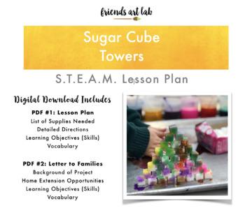 Sugar Cube Towers - S.T.E.A.M. Lesson Plan
