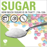 Nutrition Lesson! Sugar and Food Label Activities for Heal