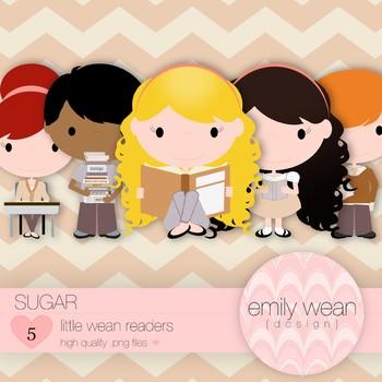 Sugar - Little Readers Clip Art
