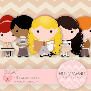 Sugar - Little Readers Clip Art