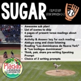 Sugar Movie Spanish Film Study Packet or Sub Plan (Spanish