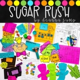 Sugar Rush Math, STEM & ELA Challenges
