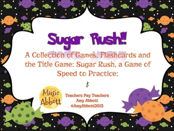 Sugar Rush: a Collection of Games for Teaching Quarter Rest