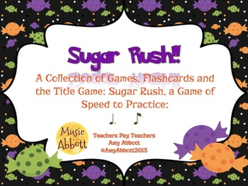 Sugar Rush: a Collection of Games for Teaching tom-ti