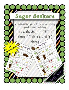 Sugar Seekers: A Battleship-inspired Candy Searching Game For Articulation