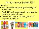 Sugar Shock! How much sugar is in our favorite beverage?