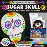 Sugar Skull Art Project Easy Oil Pastels Powerpoint