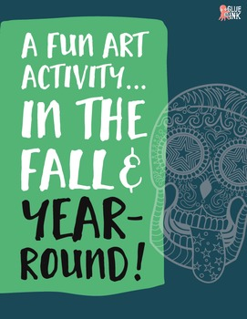 Sugar Skull Color Fun #4 – EVEN MORE Spooky Skulls {Coloring Book}