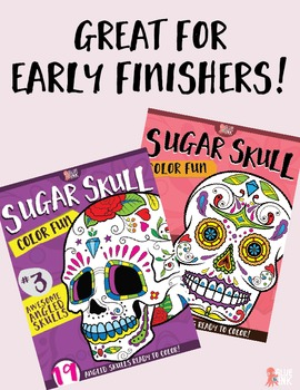 Sugar Skull Color Fun Coloring Books {THE BUNDLE}