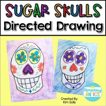 Sugar Skull Directed Drawing