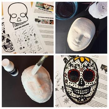 Day of the Dead Sugar Skull Masks Lesson