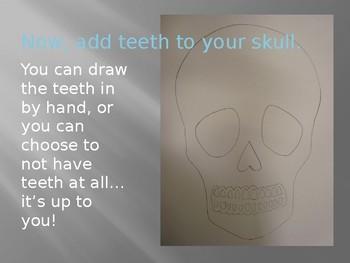 Sugar Skull: Step - by - Step