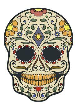 Sugar Skull Vectors Clip Art