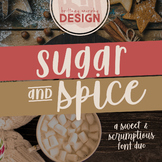 Sugar & Spice Font Duo for Commercial Use