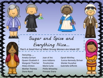 Sugar and Spice And Everything Nice...A Small Part of What Women Are Made Of!
