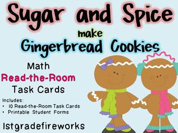 Sugar and Spice make Gingerbread Cookies