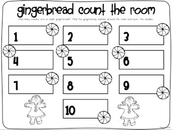 Sugar and Spice....Gingerbread and Candy Themed Math and Literacy