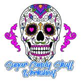 Sugar candy skull design