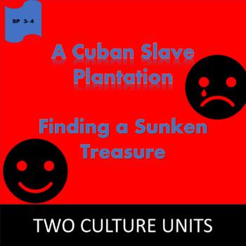 A Sugar Plantation / A Sunken Galleon; 2 units about Cuba