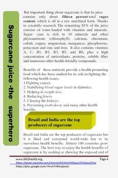 Sugarcane juice-the superhero
