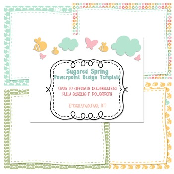 Sugared Spring PowerPoint Template