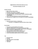 Suggested Activities for Differentiated Handwriting Instruction