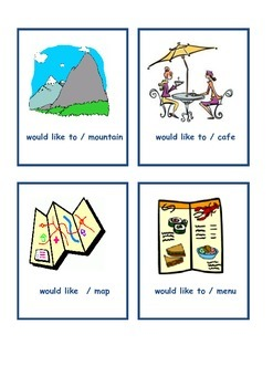 Suggestions & Times Using Would Like To + Infinitive Verb