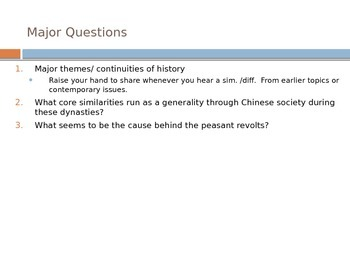 Sui, Tang, & Song Dynasty Innovation PowerPoint