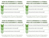 Suicide Assessment Cards