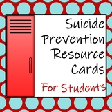 Suicide Resource Card for Students
