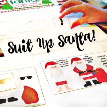 Suit Up Santa!  {an open ended game for any skill}